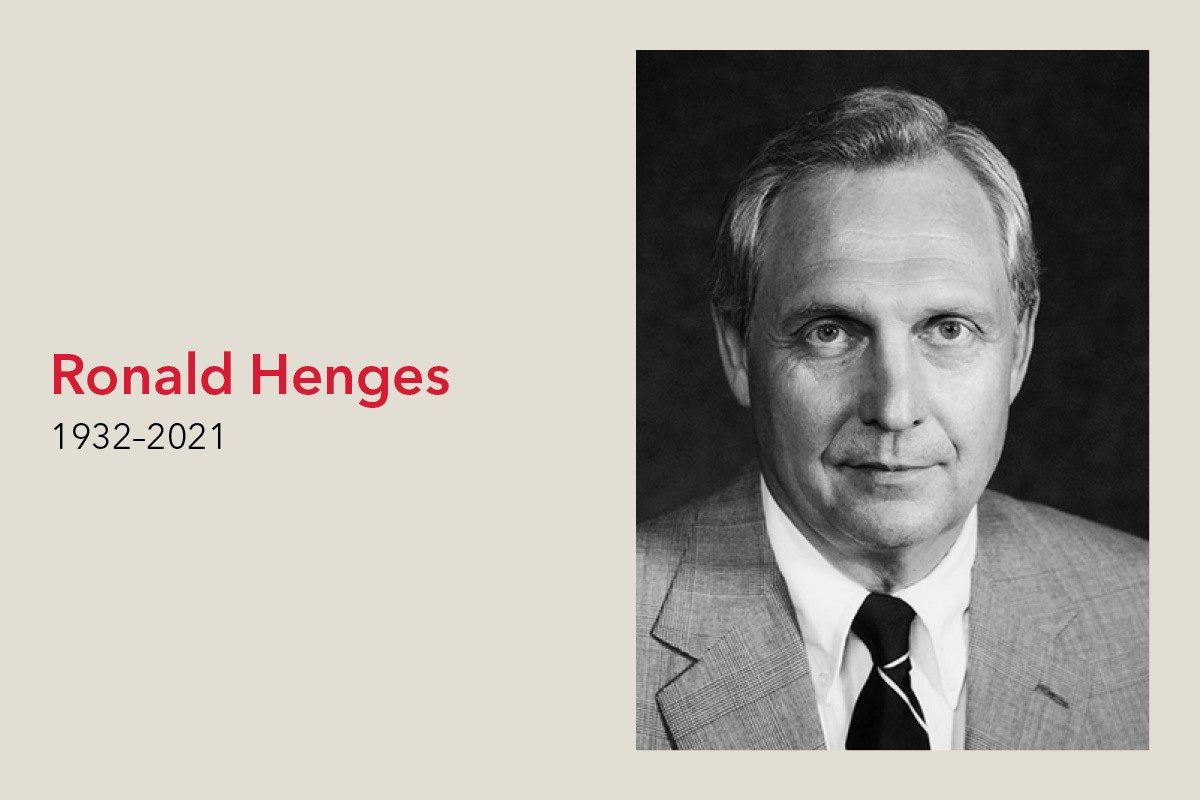 Remembering Ronald Henges (1932–2021)